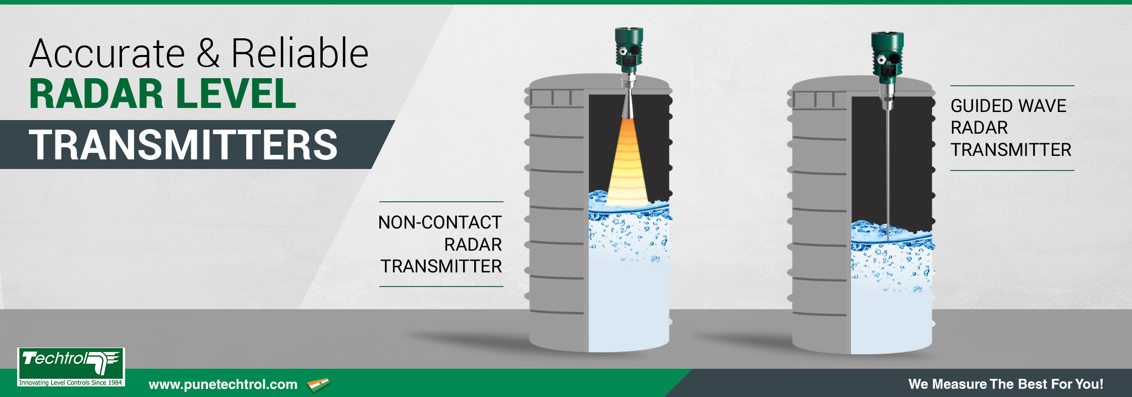 How does Radar Level Transmitter work?