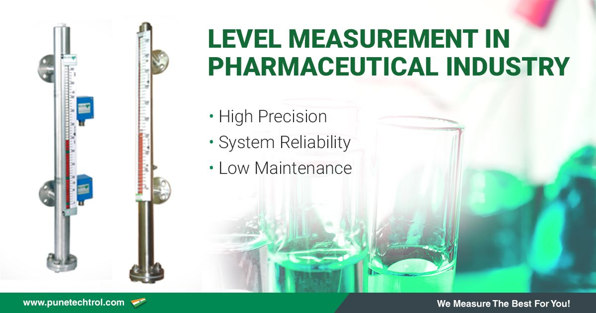 Level Measurement in Pharmaceutical Industry