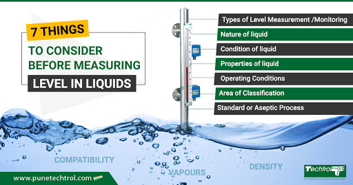 SEVEN THINGS TO CONSIDER BEFORE MEASURING LEVEL OF LIQUIDS
