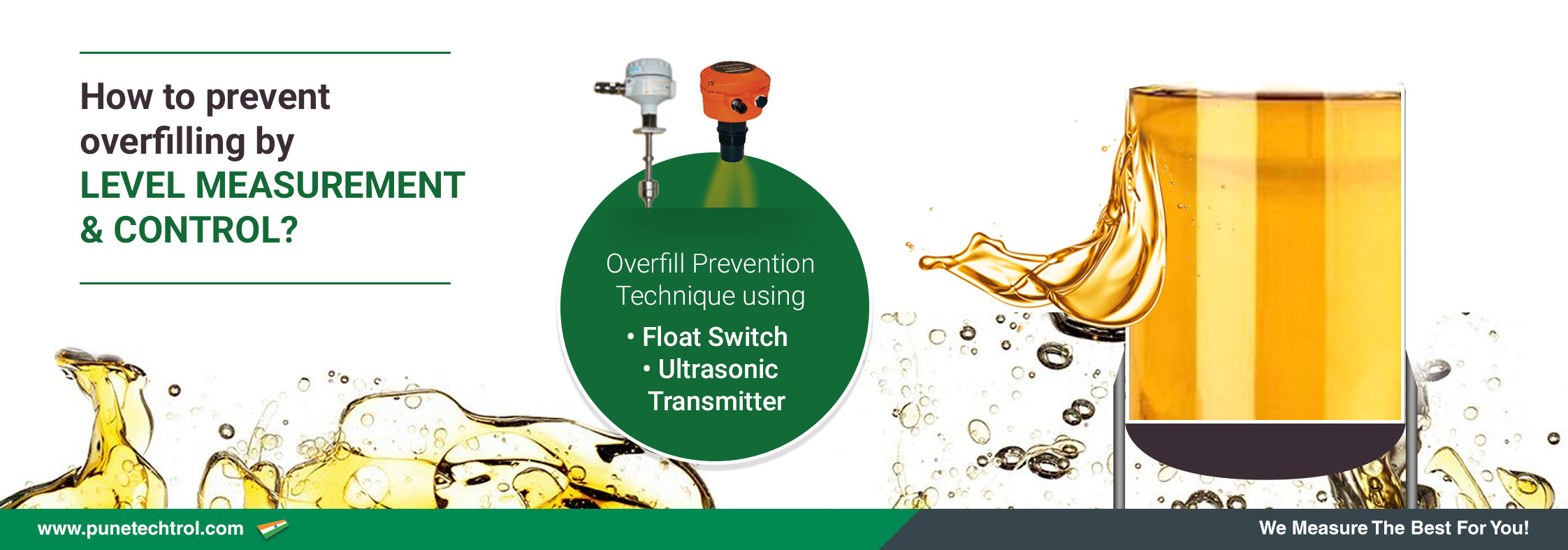 How to Prevent Overfilling By Level Measurement And Control