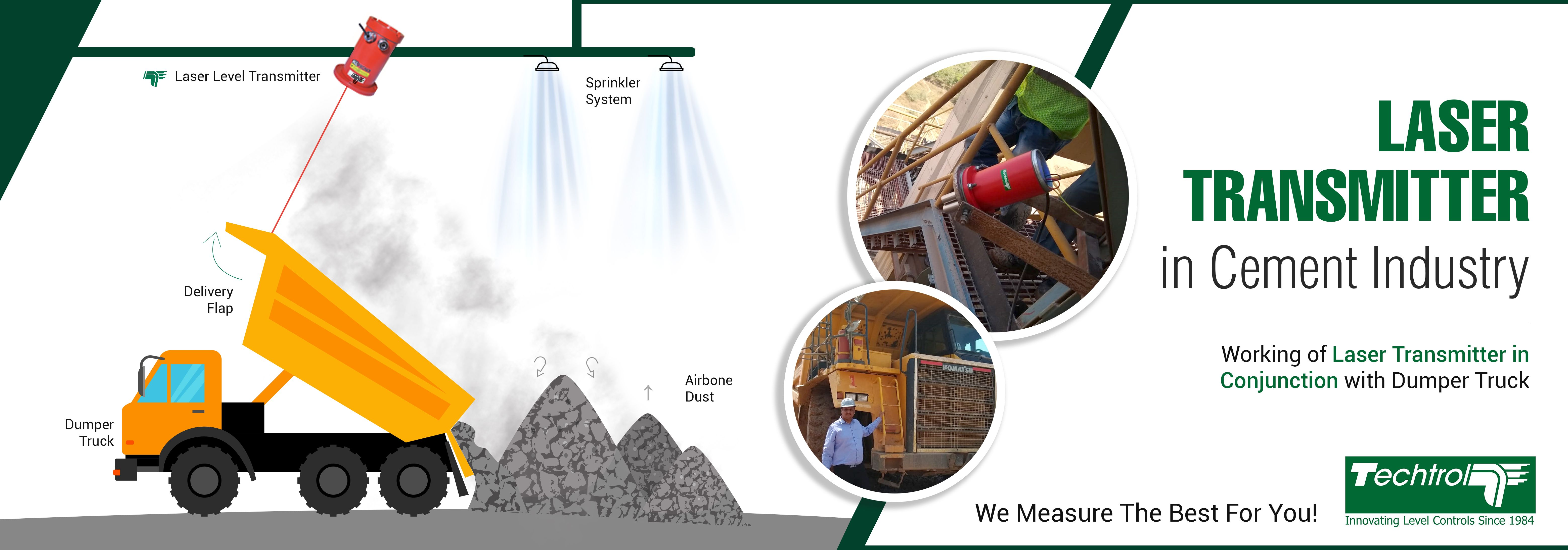 Successful Installation of Laser Transmitter in Cement Industry