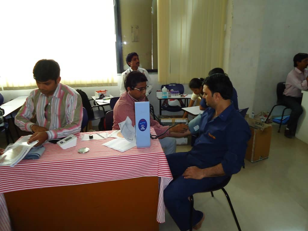 Health Check-up Camp for Employees