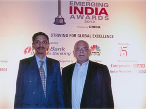 ICICI CNBC Emerging India Award 2012