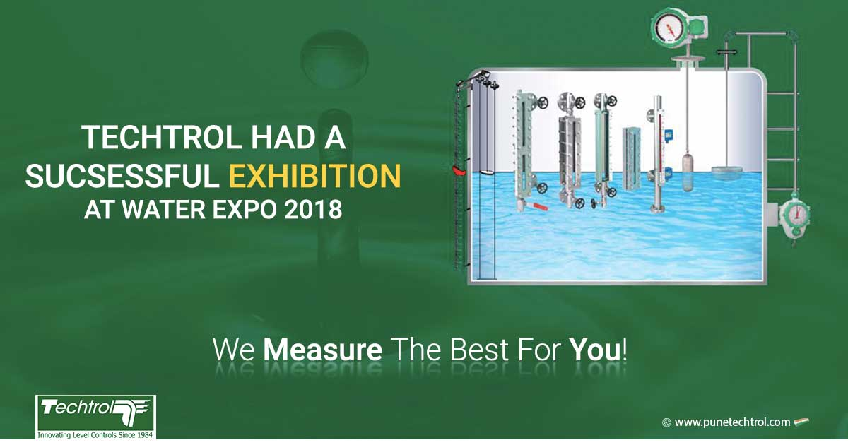Triumphant success of Pune Techtrol exhibiting their range of products at Water Expo 2018